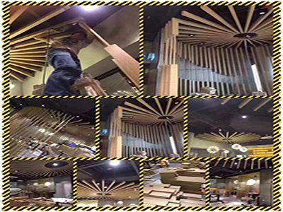 吊顶装饰材料铝方通
