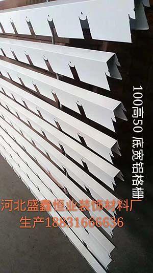 100高50底宽铝格栅